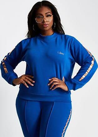 5302f22b09c Ashley Stewart Plus Size La La Anthony Zip Back Crew Neck Sweatshirt