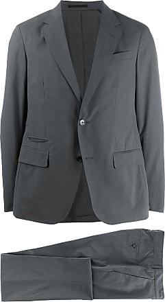 Ermenegildo Zegna two piece slim-fit suit - Grey