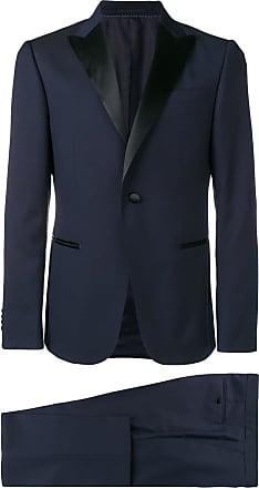Ermenegildo Zegna contrast lapel suit - Blue