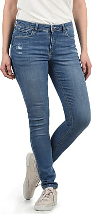 Blend Adriana Womens Jeans Denim Pants Stretch Relaxed-Fit, Size:S, Colour:Light Blue Denim (29030)