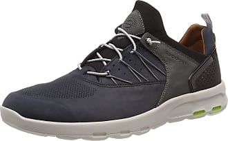 Rockport Mens Lets Walk Bungee Trainers, Blue (Blue Nubuck 003), 11.5 (46.5 EU)