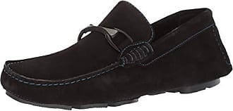 Bugatchi Mens Driver Driving Style Loafer, Nero, 9.5 Medium US