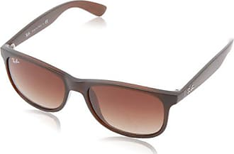 Ray-Ban RB4202 607313 Andy Non-Polarized Sunglasses, Matte Brown/Brown Gradient, 55 mm