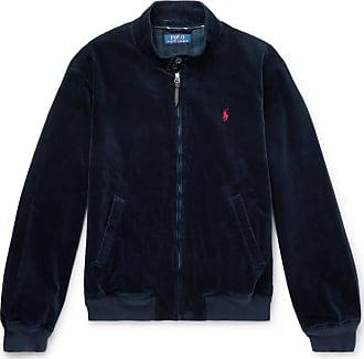 Polo Ralph Lauren Stretch Cotton-corduroy Jacket - Navy
