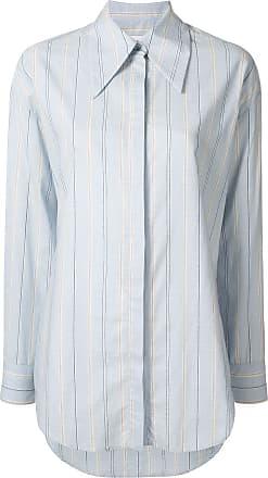 Karen Walker Camicia Pluton a righe - Di colore blu