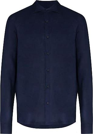 Orlebar Brown Giles long-sleeve shirt - Blue