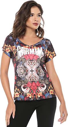 Carmim Camiseta Carmim Print Preta