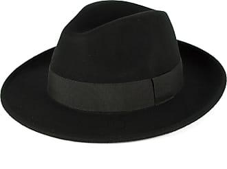 Hat To Socks Elegant Black Wool Fedora Hat Waterproof & Crushable Handmade in Italy