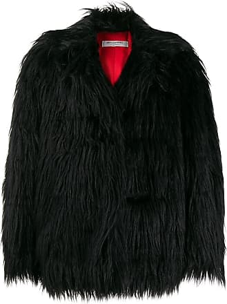 Philosophy di Lorenzo Serafini oversized faux-fur jacket - Black