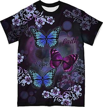 NA Faith Hope Love Butterflies 3D Shirt