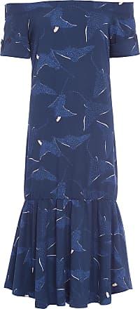 Maria Filó Vestido Midi Egeu Maria Filó - Azul