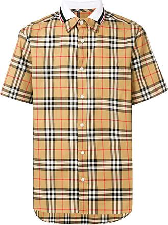 63f46d933c Burberry® Camisas Xadrez  Compre com até −25%