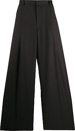 Inês Torcato Calça ampla pantalona - Cinza