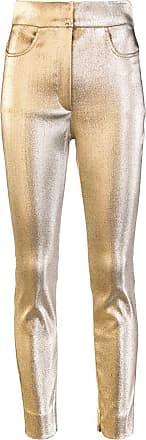 Dolce & Gabbana Calça skinny - Dourado