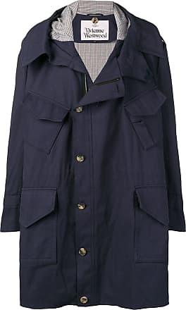 Vivienne Westwood oversized parka coat - Blue