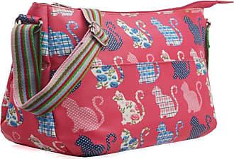 Your Dezire Ladies Oilcloth Cat Cross Body Messenger Bag Women Shoulder Tote Satchel Handbag