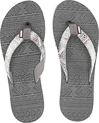 9999d1c1a18 Muk Luks Womens Emma Flip Flops Sandal White 9 M US