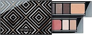 Artdeco Augen Lidschatten Limited Edition with Nude Colors The Palette Eyeshadow Nr. 04 + Nr. 05 + Nr. 10 + Nr. 17 + Nr. 29 (je 0,8 g) + Glow Powder Nr. 05 3