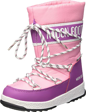 bb36ab27e2ae Moon Boot Unisex Kids We We Sport Jr Wp Snow Boots Pink (Rosa Orchidea