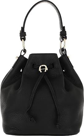 Aigner Tara Bucket Bag Black Bucket Bags zwart