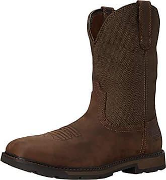 Ariat Mens Groundbreaker Sq Toe H20 Steel Toe Clogs/Shoes 10 EE/Wide(Width) Palm Brown