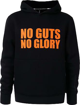 Blackbarrett Moletom No Guts No Glory com capuz - Preto