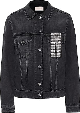 Christopher Kane Crystal-embellished denim jacket