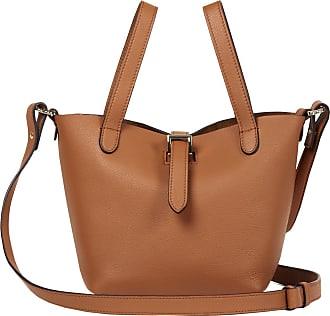Meli Melo Meli Melo Thela Mini Shopper Tan Brown Leather Cross Body Bag for Women
