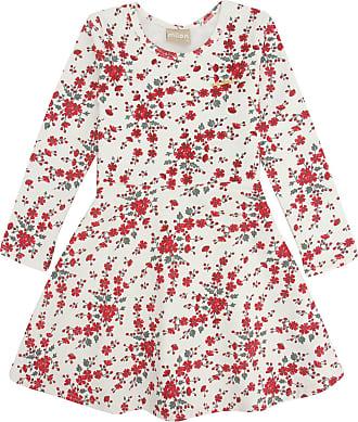 Milon Vestido Milon Infantil Floral Off-White