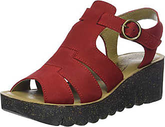 FLY London Damen Yuni188fly Sandalen, Rot (Lipstick Red), 40 EU b223285fd0