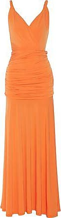 Halston Heritage Halston Heritage Woman Stretch-jersey Gown Orange Size S