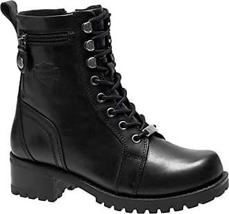 76ab2250c820 Harley-Davidson Womens Keeler 6-Inch Motorcycle Boots D84330 (Black