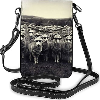 NA Cell Phone Purse Small Crossbody Glasses Sheep Wallet Bags With Adjustable?Shoulder Strap Women