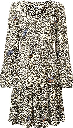 Liu Jo leopard print skater dress - Brown