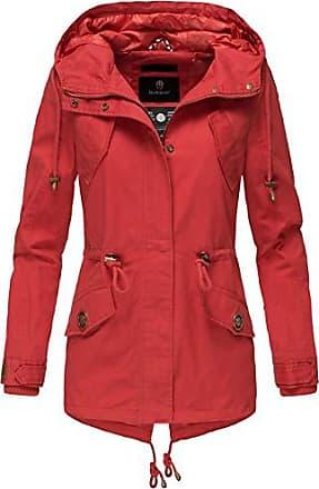 Marikoo Damen Jacke Frühling Übergangsjacke leicht Parka