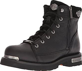 8177bce14ae3 Harley-Davidson Mens Chipman Motorcycle Boot Black 12 Medium US