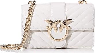Pinko Love Mini Mix Cl Nappa Womens Cross-Body Bag, Grey (GRIGIO ARGENTO), 6x12.8x20.8 centimeters (W x H x L)