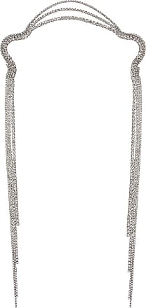 8 Other Reasons X REVOLVE Icey Scarf Necklace in Metallic Silver
