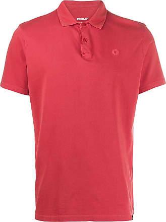 Ecoalf Camisa polo mangas curtas - Vermelho