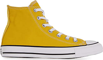 converse femme moutarde