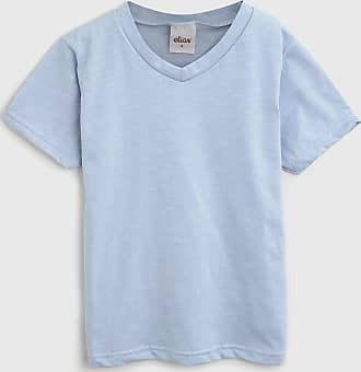 Elian Camiseta Elian Infantil Gola V Azul
