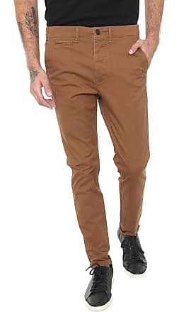 Jack & Jones Calça Sarja Jack & Jones Chino Lisa Caramelo