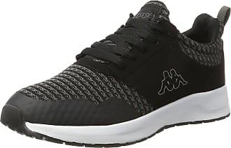 7367b7c7e06 Kappa Adults Tray Ii Low-Top Sneakers 1116 Black/Grey 11 UK