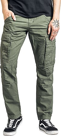 Produkt Canvas Cargo Pants - Herr-Cargo-byxor - oliv