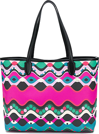 Emilio Pucci Abstract Print Ping Bag Multicolour