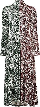 Rosie Assoulin Vestido com contraste - Estampado