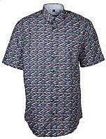 Wind Sportswear Hemd mit Fischmuster