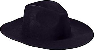ále by Alessandra Womens Davona Adjustable Floppy Felt Hat, Navy, Adjustable Head Size