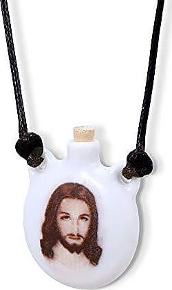 Design Medalhas Aromatizador Pessoal ou Porta Água Benta Jesus Cristo