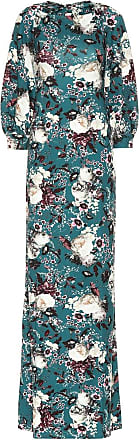 Erdem Etheline floral ponte maxi dress